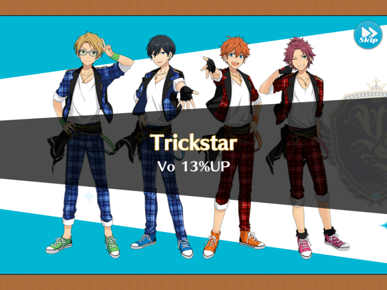 ユニットスキル発動(Trickstar)
