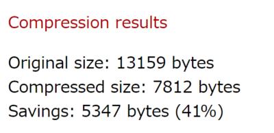 CSSの圧縮