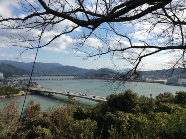 唐津城から見える景色