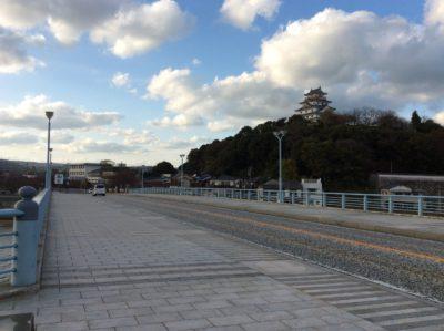 舞鶴橋と唐津城