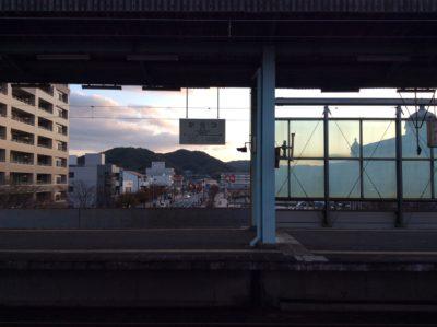 唐津駅 ホーム