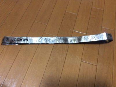 銀テープ収納ストラップ